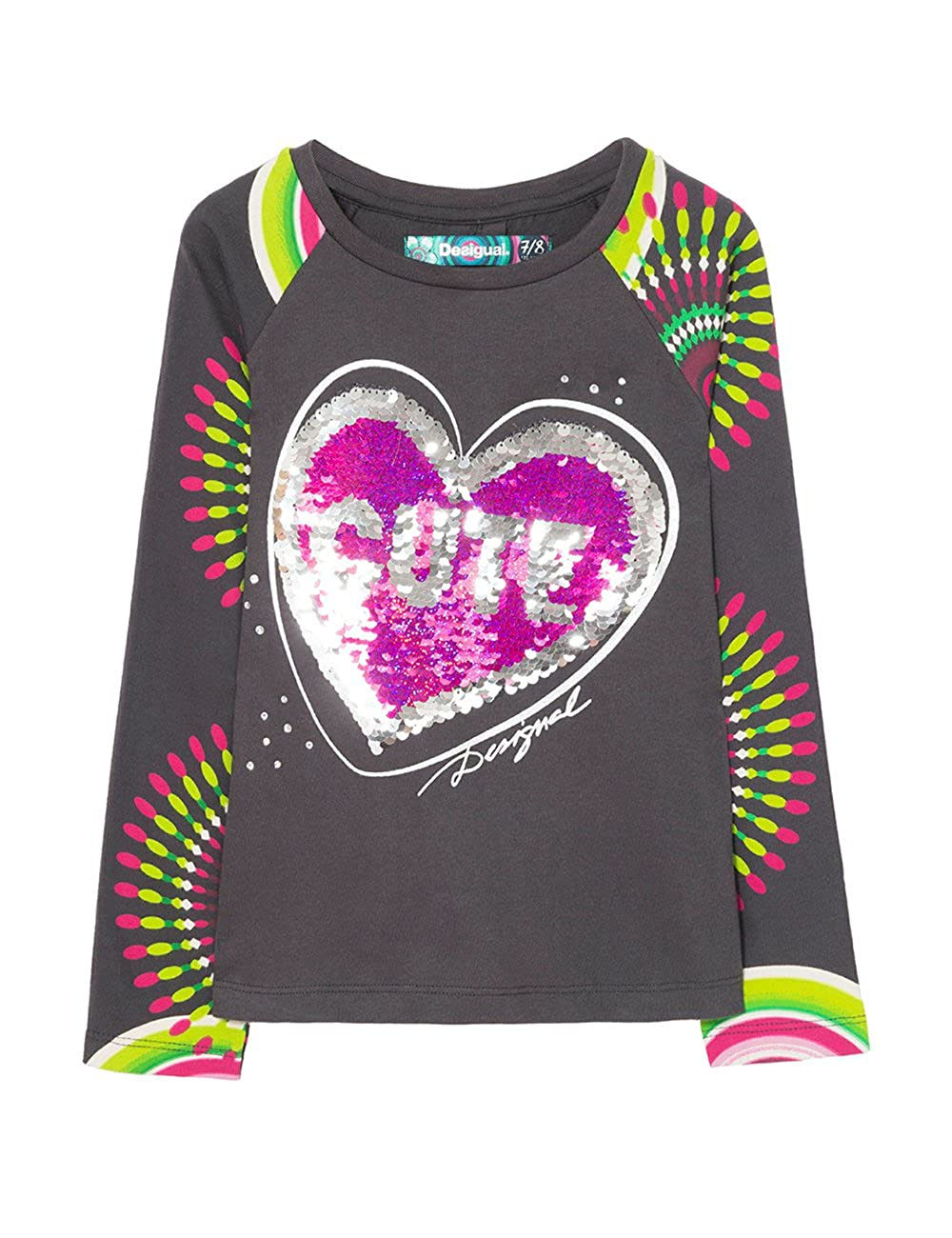 Desigual Girl's Ts_Saskatchewan Long Sleeve Top