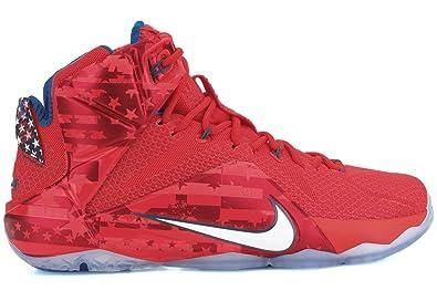 huge selection of 19fbe 8441c Nike LeBron XII Mens Basketball Shoes, 10.5