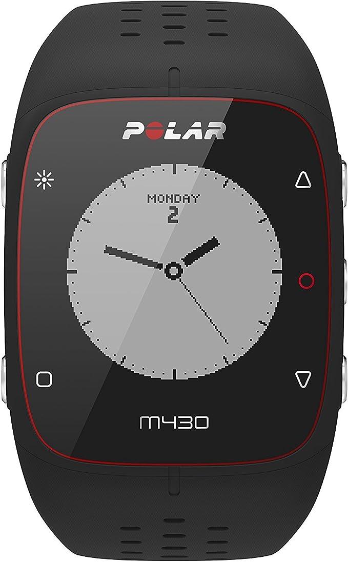 Polar M430 Reloj de Running con GPS y Frecuencia cardíaca en la muñeca - Multideporte - actividad 24/7 - Negro, M/L: Amazon.es: Deportes y aire libre