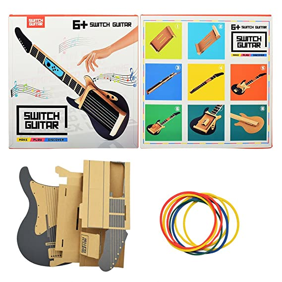 The Perseids Guitar Cardboard Stand For Switch Labo Accessories