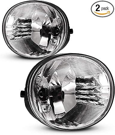 AUTOWIKI Fog Lights For 04-05 Toyota Rav4// 05-07 Toyota Avalon// 06-09 Toyota 4 Runner// 05-06 Lexus ES330 OEM Replacement Fog Lamps 2PCS