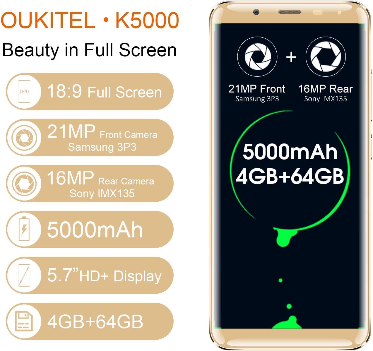 OUKITEL K5000-5,7