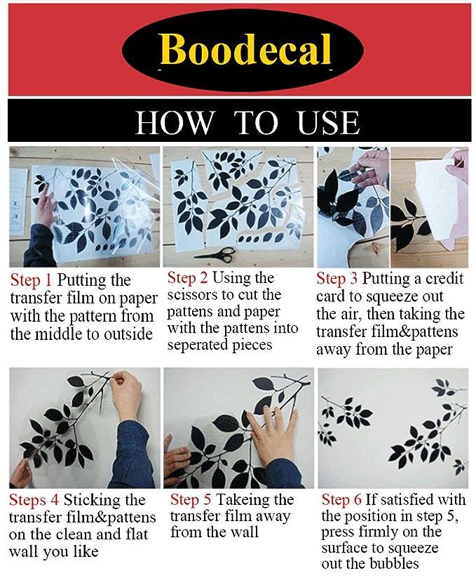 boodecal elefante Series dibujos animados, diseño de familia de elefantes vinilo de burbujas de forma de corazón pared adhesivos para habitación de niños, ...