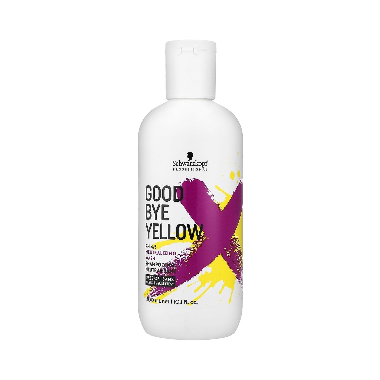 Goodbye Yellow by Schwarzkopf Shampoo 300ml Schwarzkopf Professional