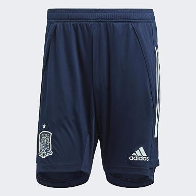 adidas Fef TR SHO - Pantalón Corto Entrenamiento Federación Española de Fútbol Hombre: Amazon.es: Deportes y aire libre