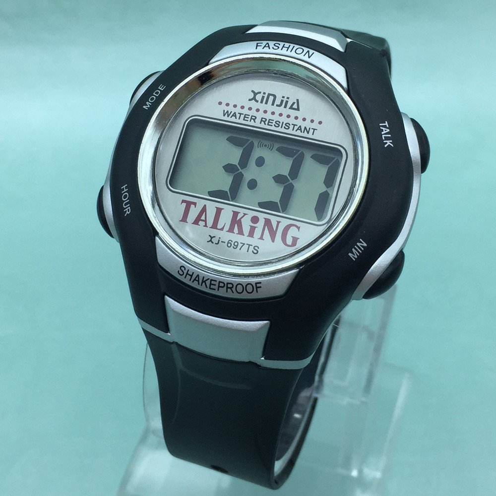 Amazon.com: Spanish Language Unisex Talking Watch for The Blind and Elderly: Industrial & Scientific