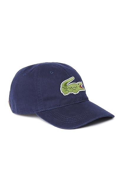 49991230502 Lacoste Men s Large Green Croc Gabardine Cotton Cap (ONE   EURTU ...