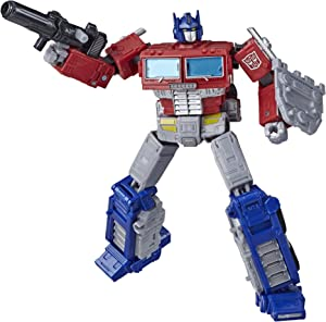 Transformers Toys Generations War for Cybertron: Earthrise Leader WFC-E11 Optimus Prime Action Figure - Kids Ages 8 and Up, 7-inch