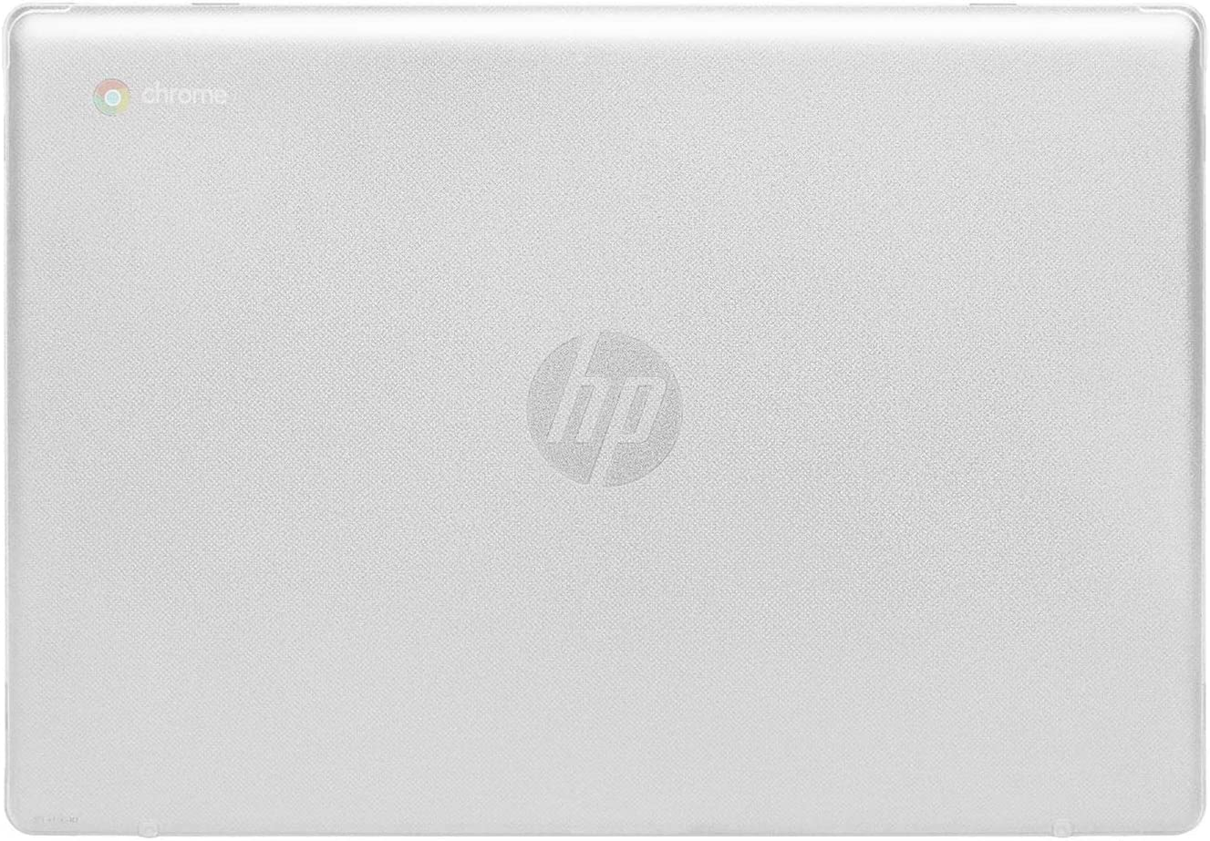 "mCover Hard Shell Case for 2020 14"" HP Chromebook 14 G6 (NOT Compatible with Older HP C14 G1 / G2 / G3 / G4/ G5 Series) laptops (Clear)"