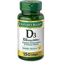 Vitamin D by Nature's Bounty for immune support. Vitamin D provides immune support and promotes healthy bones. 5000IU…