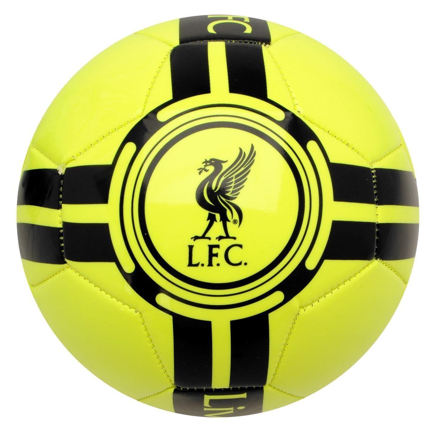 チームFluo Football Liverpool FC EPLレッズサッカーボールサイズ5 B010QYH2ZK