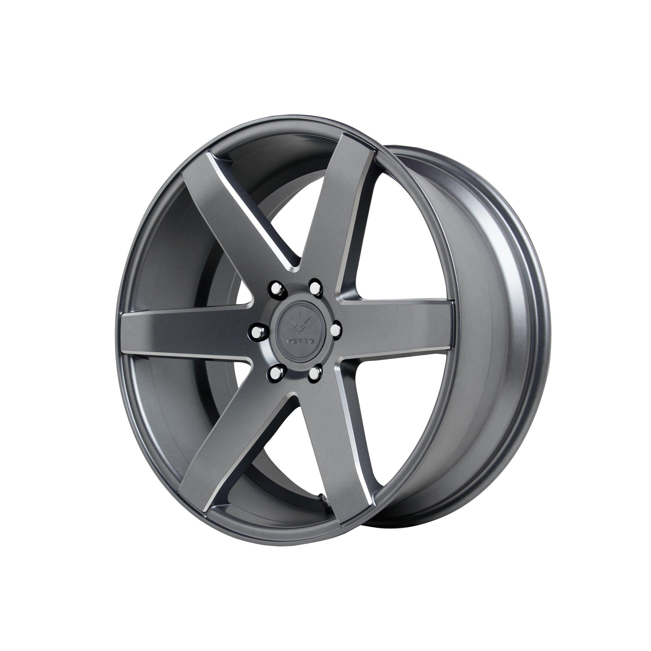 Verde Custom Wheels V24 Invictus Matte Graphite Wheel (20x9''/6x135mm)