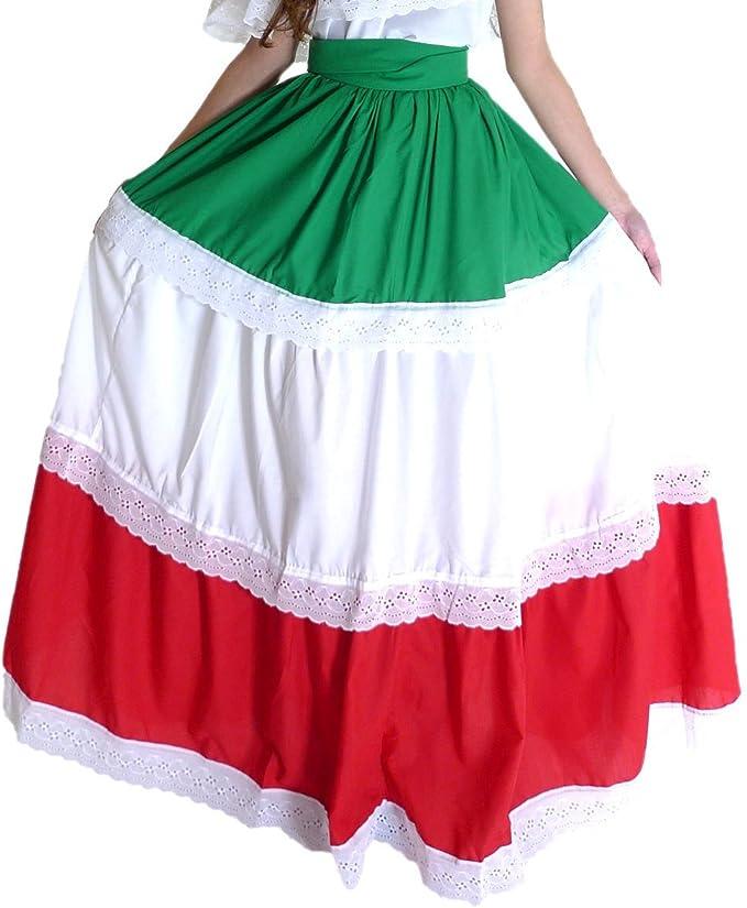 Amazon.com: Mexicano ropa Co para mujer de mexicana falda ...