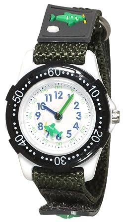 b5aa23e8b7 [クレファー]CREPHA 腕時計 アナログ ナイロンベルト マジックテープ ブラック BAK-4139-BK