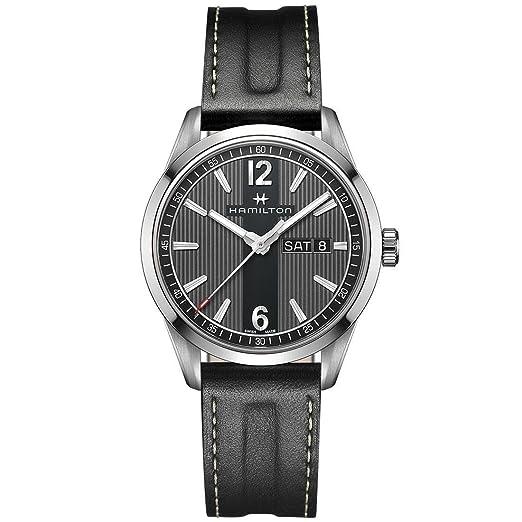 Hamilton H43311735 Broadway Day Date Quartz Reloj Hombre: Amazon.es: Relojes