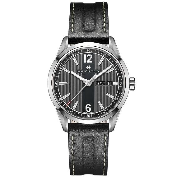 Hamilton H43311735 Broadway Day Date Quartz Reloj Hombre