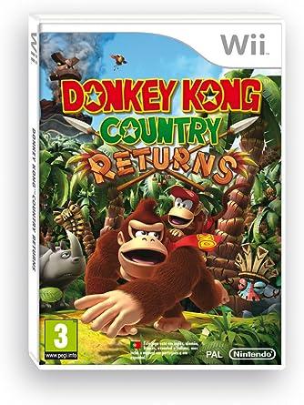 Wii Donkey Kong Country Returns: Amazon.es: Videojuegos