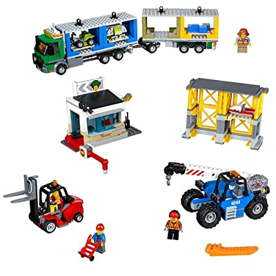 LEGO City Town Cargo Terminal 60169 Building Kit (740 Piece): Toys & Games