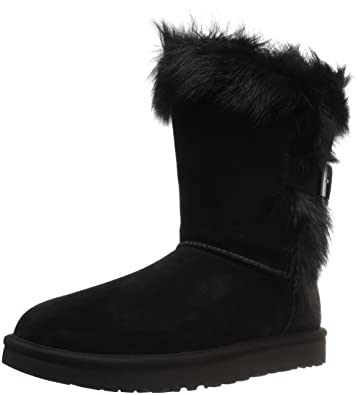 UGG Women's Deena Winter Boot, Black, ...
