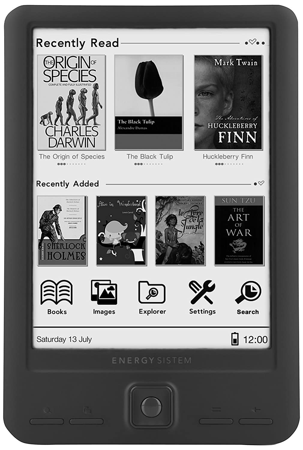 Energy Sistem ebook eReader Screenlight 6