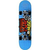 SkateMax - Skateboard junior «Rock Music» (pour enfant de 5/7ans), vert