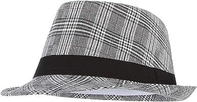 Men Fashion Fedora Hat Stylish Winter Jazz Cap Derby Bowler Manhattan Hats