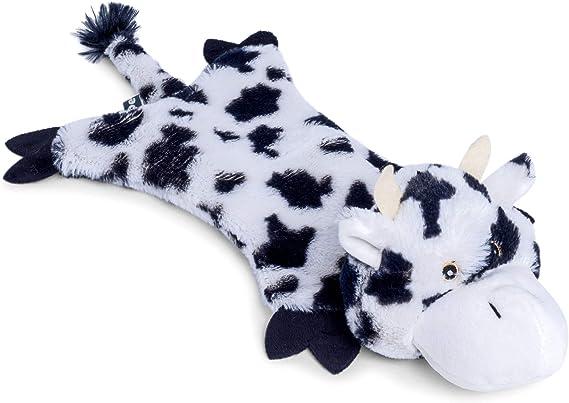 Petface Farmyard Buddies Crinkle Flat Cow Dog Toy: Amazon.co
