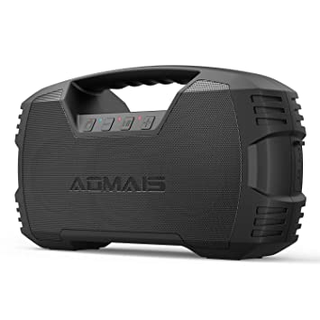 AOMAIS GO Bluetooth Speakers,Waterproof Portable Indoor/Outdoor 30W  Wireless Stereo Pairing Booming Bass Speaker,30-Hour Playtime with 8800mAh  Power