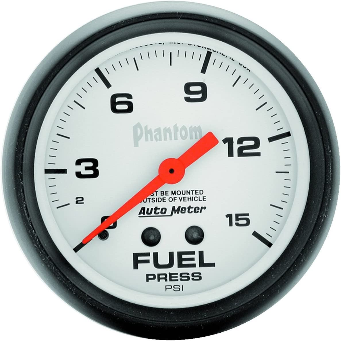 Auto Meter 5810 Mechanical Fuel Pressure Gauge