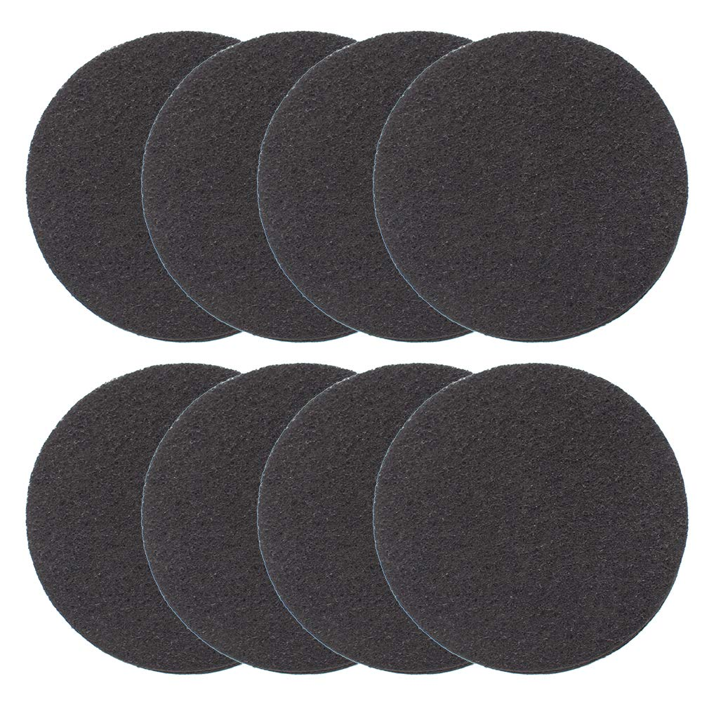 8 Pack Kitchen Compost Bin Charcoal Filter Replacements, Compost Pail Replacement Carbon Filters 5.5 inch, Round Md trade