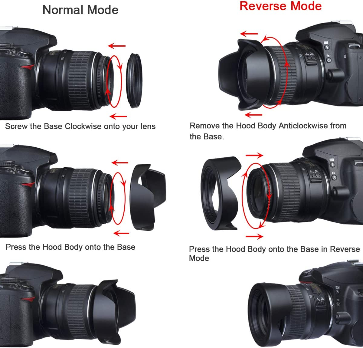 Flower Design for Canon EOS 80D 67mm Pro Digital Lens Hood