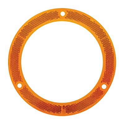 "Grand General 81630 Amber Reflector Ring for 4"" Round Light, 1 Pack: Automotive"