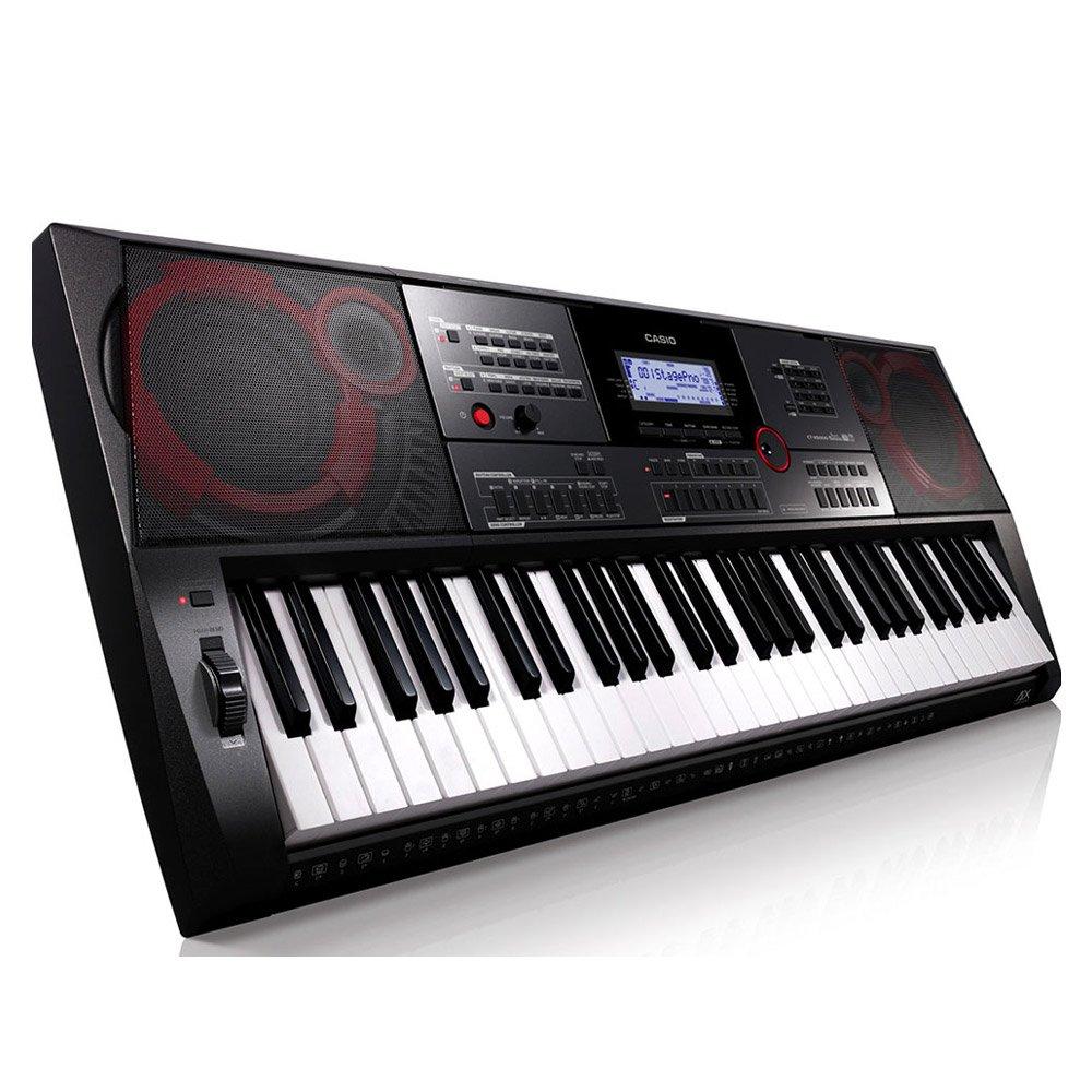 Casio ct-x5000 61 Keys USB Black, White Midi Keyboard - Midi Keyboards (61 Keys, USB, 948 mm, 384 mm, 116 mm, 7 kg): Amazon.es: Electrónica