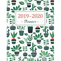 2019-2020 Planner: Daily Weekly Monthly Calendar Planner - 24 Months Jan 2019 - Dec 2020 for Academic Agenda Schedule Organizer Logbook and Journal Notebook Planners with to to List - Green Tree Cover
