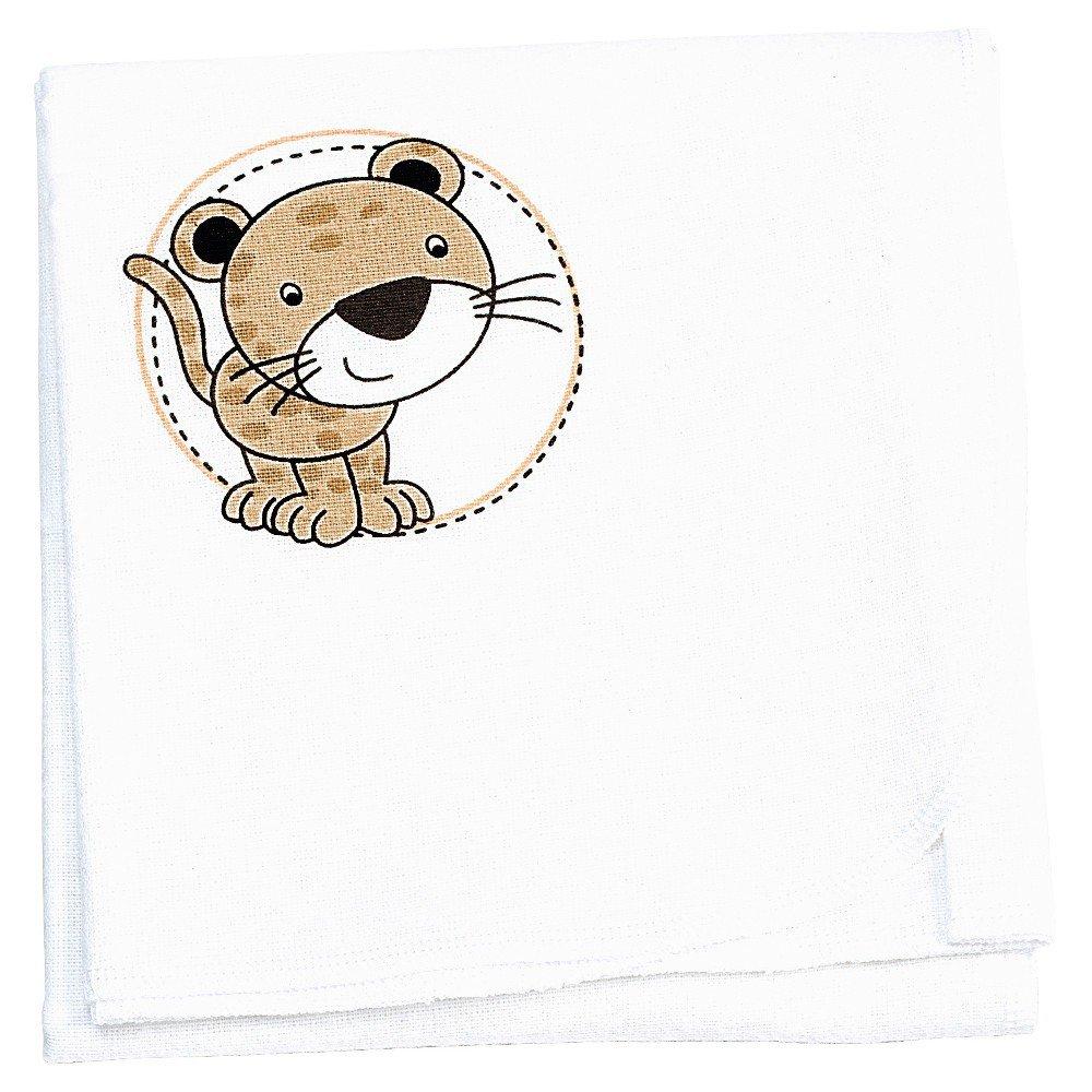 Design:beige Odenw/älder Moltont/ücher Leo 3er Pack 80 x 80 bedruckt