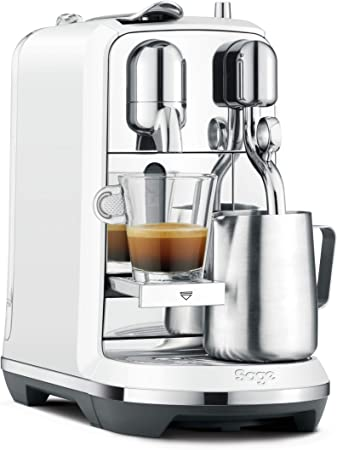 Sage Appliances SNE800SST2EGE1 The Creatista Plus - Cafetera Nespresso, color blanco: Amazon.es: Hogar