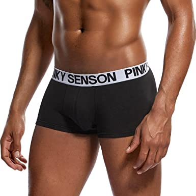 838198241e2 Deesee(TM)💕Men s Underwears💕Sexy Underwear Letter Printed Boxer Briefs  Shorts Bulge