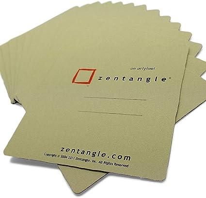 Wallet of 15 Zendala Circles 6 Different Designs Sakura Zentangle Tiles