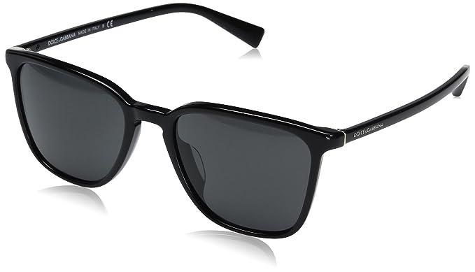 324c4bde034 Dolce   Gabbana DG4301F Sunglasses 501 87 Black 53-19-145  Amazon.co ...