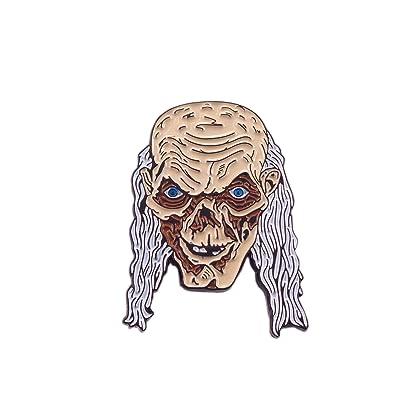 Tales From The Crypt Crypt Keeper Skull Horror Movie Enamel Pin Lapel