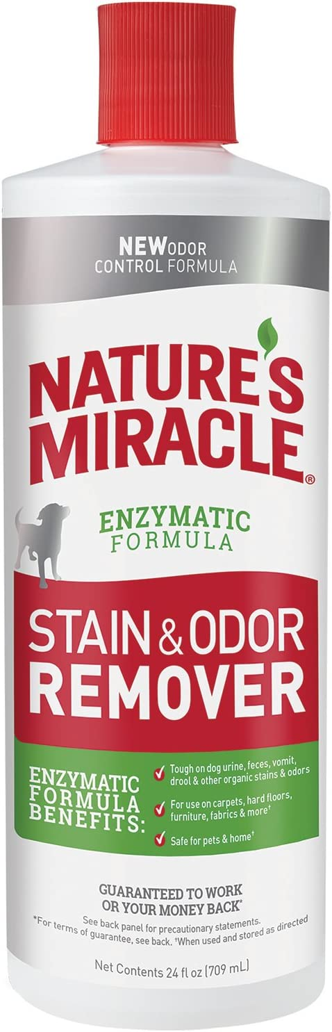 Nature's Miracle Dog Stain and Odor Remover Pour, 24 fl. oz.