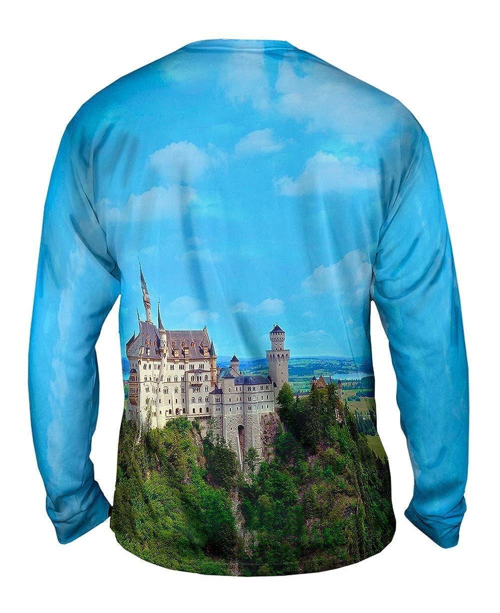 Germany Castle Neuschwanstein TShirt Yizzam Mens Long Sleeve