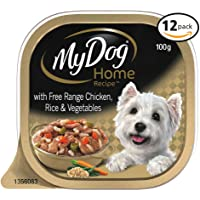 MY DOG Home Recipe Chicken Wet Dog Food 100g Tray, 12 Pack