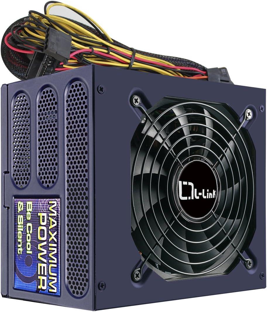 L-link LL-PS-850-80+ - Fuente de alimentación (850 W, Ventilador ...