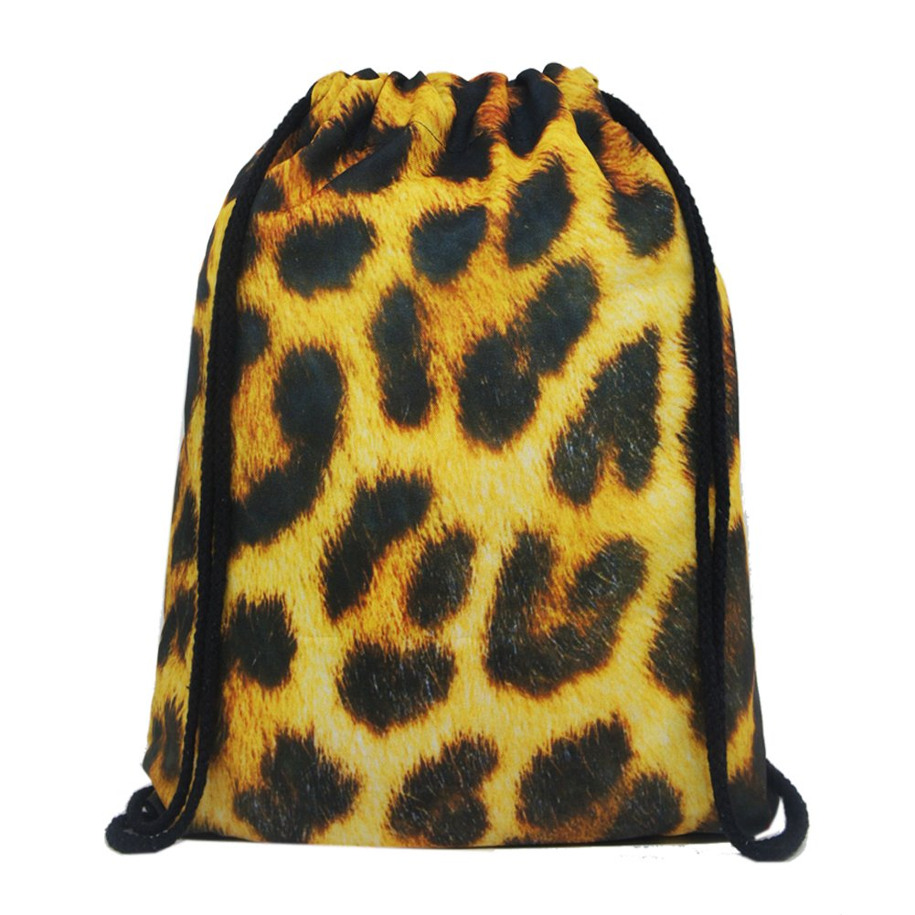 Artone Leopardo Polyester Con Bolso Viajar Daypack Deportes Portátil Mochila