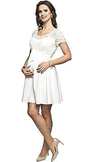 Torelle Damen Umstandskleid Brautkleid Fur Schwangere Lace Amazon