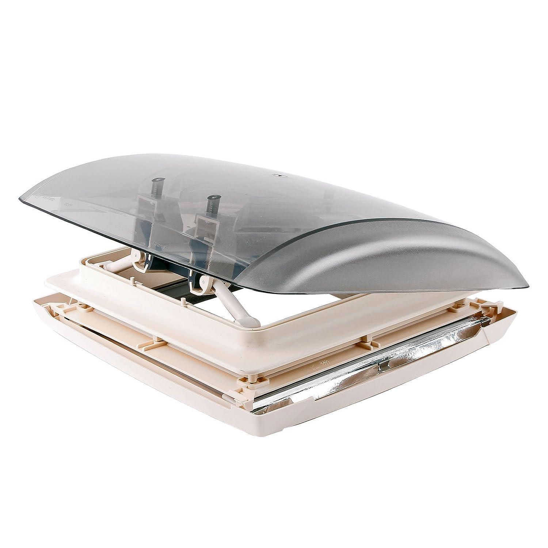 MPK Dachfenster Dachhaube Vision Vent S pro klar 28x28 cm Dachstä rke 24-46 mm 27P Dachhaube