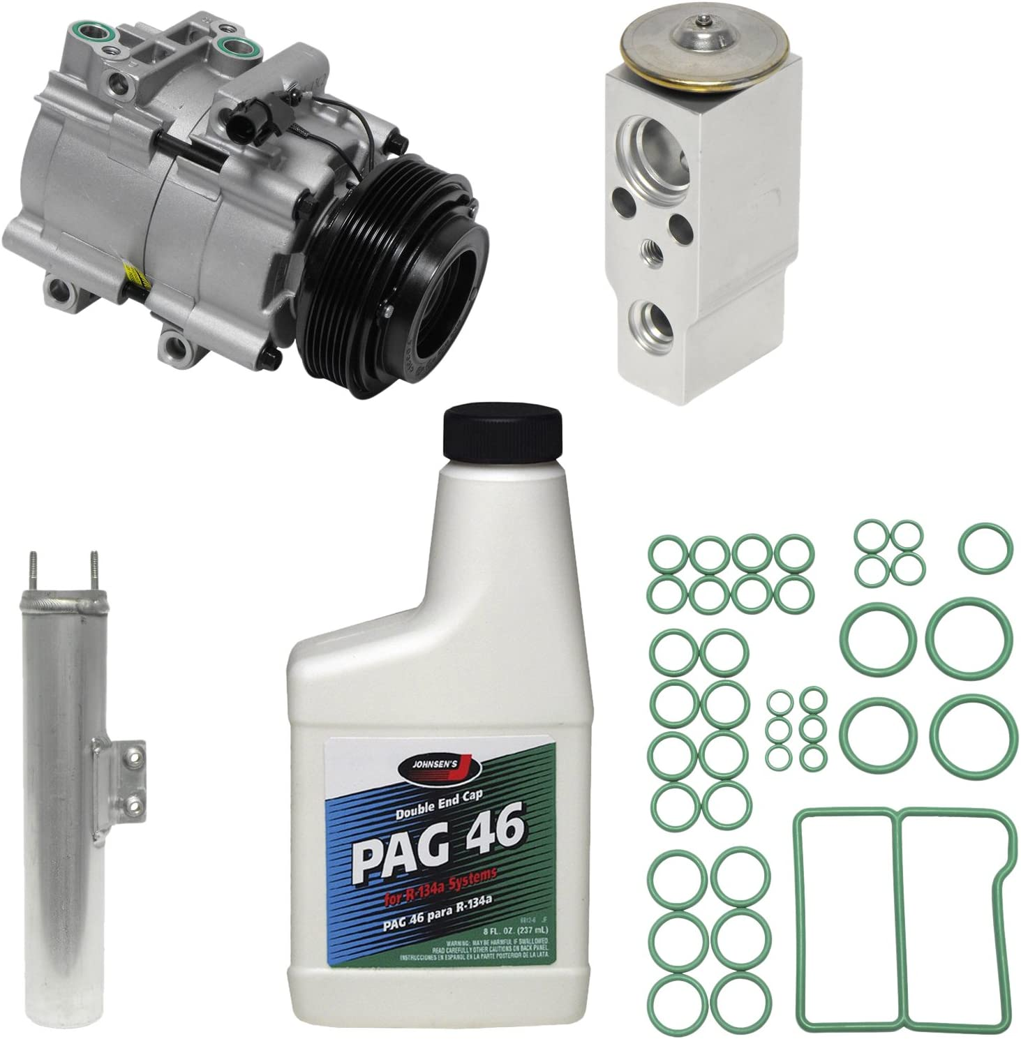 Universal Air Conditioner KT 2141 A//C Compressor and Component Kit