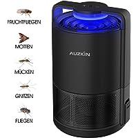 DOUHE Indoor Insektenfalle Insektenvernichter USB-betriebene UV-Licht Insektenfalle gegen Fruchtfliegen Motten Gnitzen und Mücken,Moskito-Killer Insektenlampe Giftfrei für Küche Hause Laden