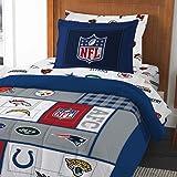 8pc NFL Twin Bedding Set Football AFC vs NFC